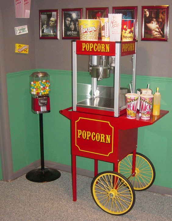 Image Result For Movie Theatre Popcorn Machine Movie Theater Popcorn Cinema Popcorn Popcorn Machine
