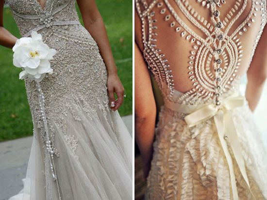 The details on this dress are fantastic.