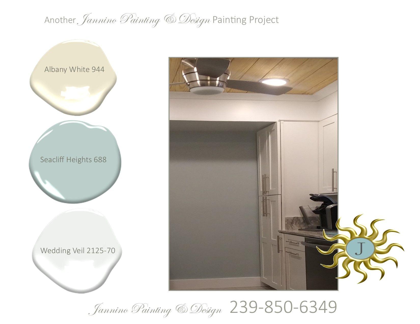Naples Painter Jannino Painting Design Choses Colors For Client S Cooler Kind Of Beachy Kitchen Paint Designs Design Accent Wall Colors