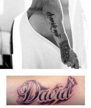 tatuajes para hombres en el brazo nombres