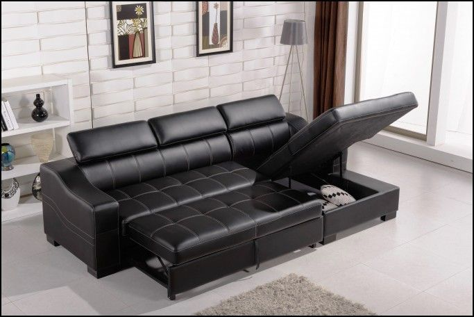 Sectional Sofa Bed With Storage Chaise Couch Sofa Gallery