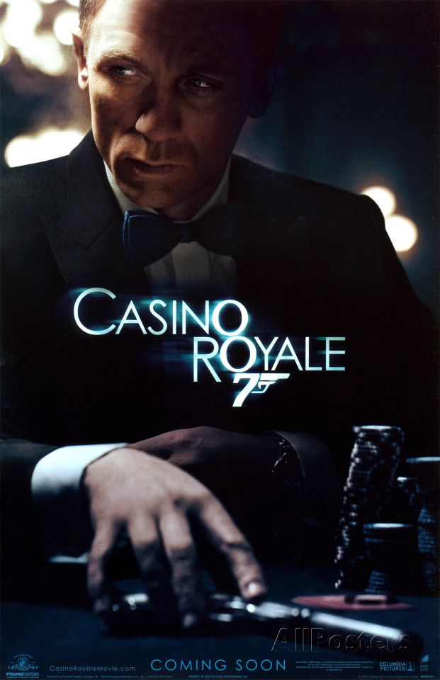 Casino Royale Masterprint James Bond Movie Posters Bond Movies