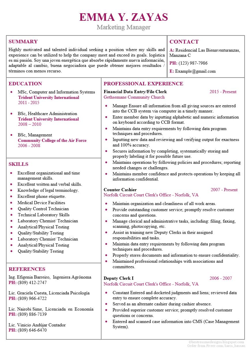 Cv Design No 8 Resume Design Cv Design Cv Examples