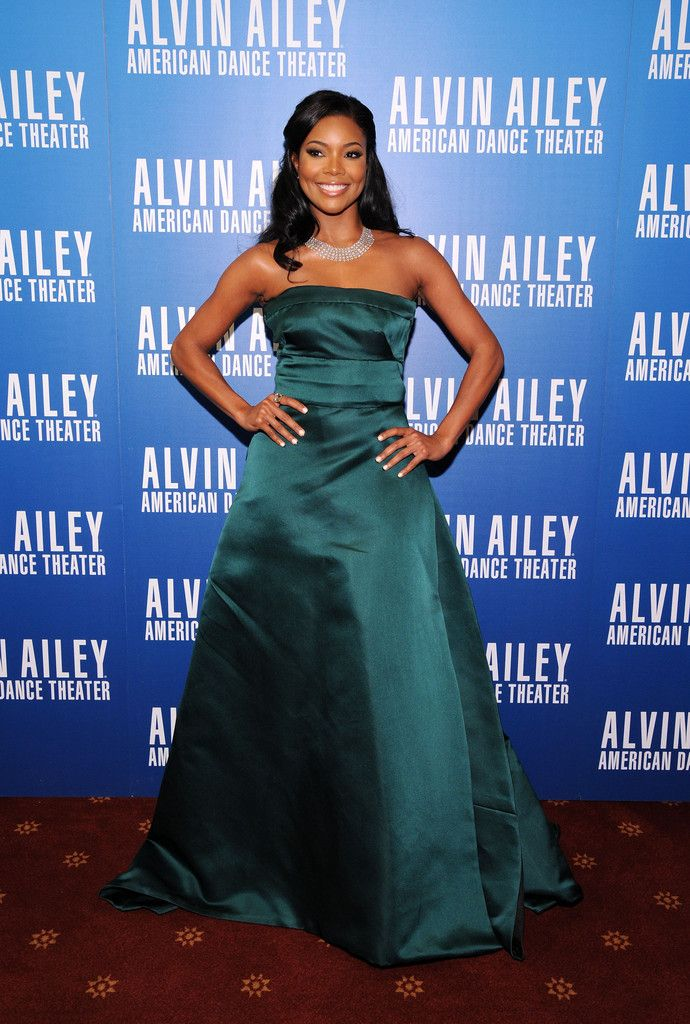 Gabrielle Union attends the 2013 Alvin Ailey American Dance Theater's opening night benefit gala at New York City Center on December 4, 2013 in New York City.