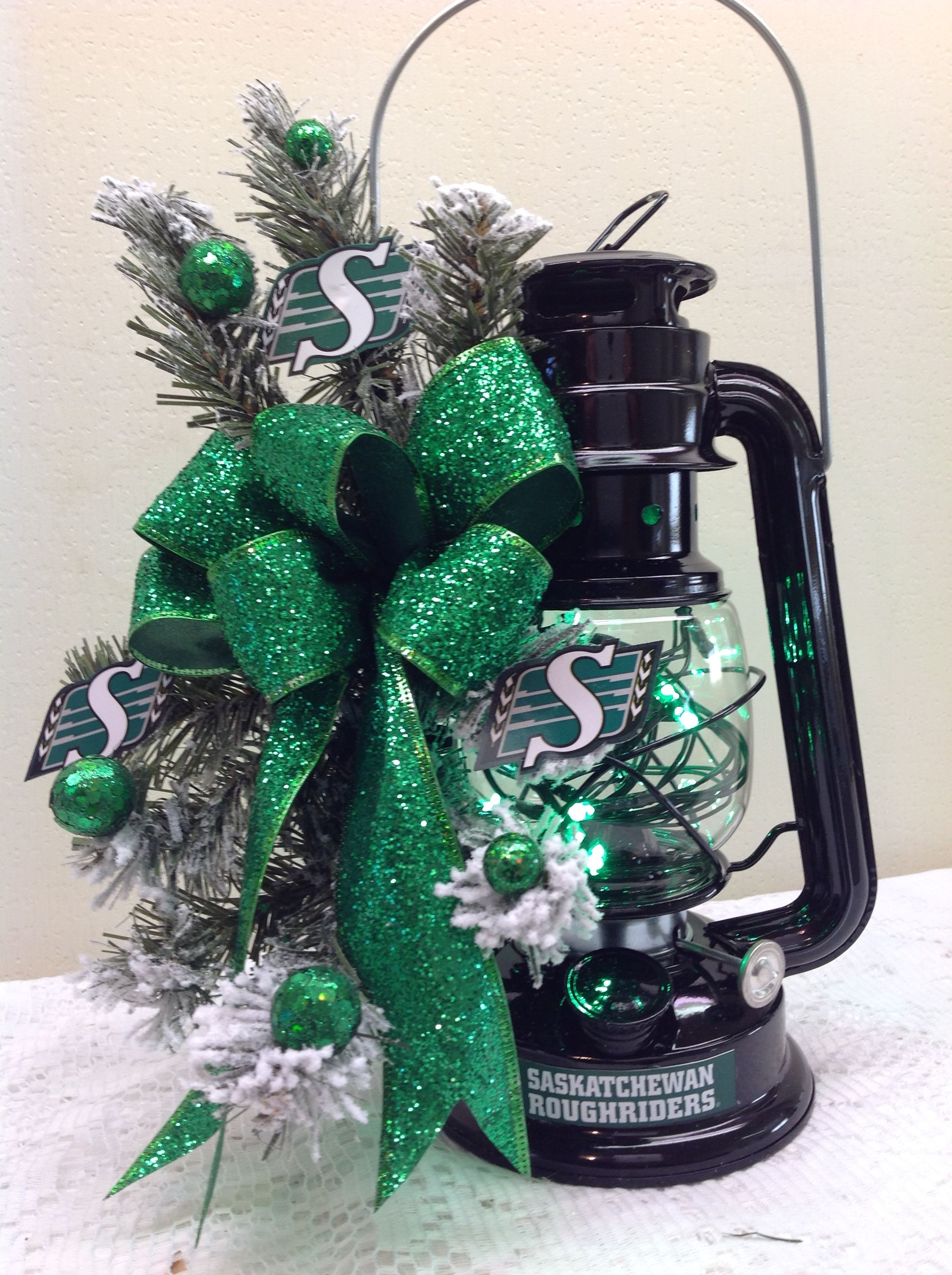 bows greens pin lighting to flocked lanterns led lights green small roughrider
