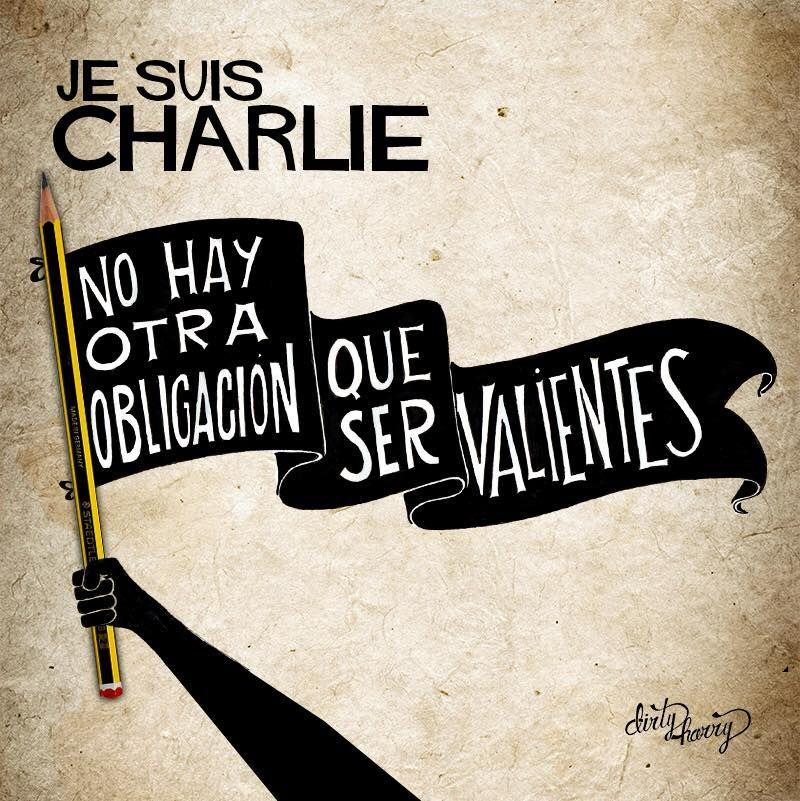 La Bloga Somos Orlando: Yo Soy Charlie ~ Soy París ~ Soy Bruselas