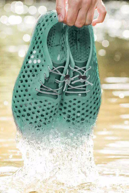 e0dbe3a875a3a2 The Latest in Eco-Friendly Footwear  Water Shoes Made Out of Algae ...