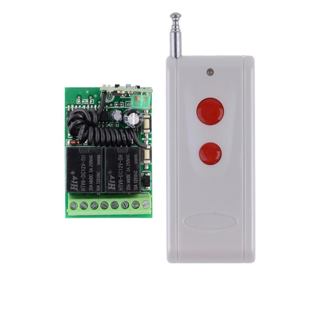 Dc 12v 2ch Mini Relay Remote Control Switch Learning Code Ask With No And Nc Contacts Wireless Com Contact Rf Rx Tx 315 433mhz Yesterdays Price Us 1489 1328