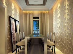Modern 3d Panel For Dining Room Wall Decoration Dining Room Wall
