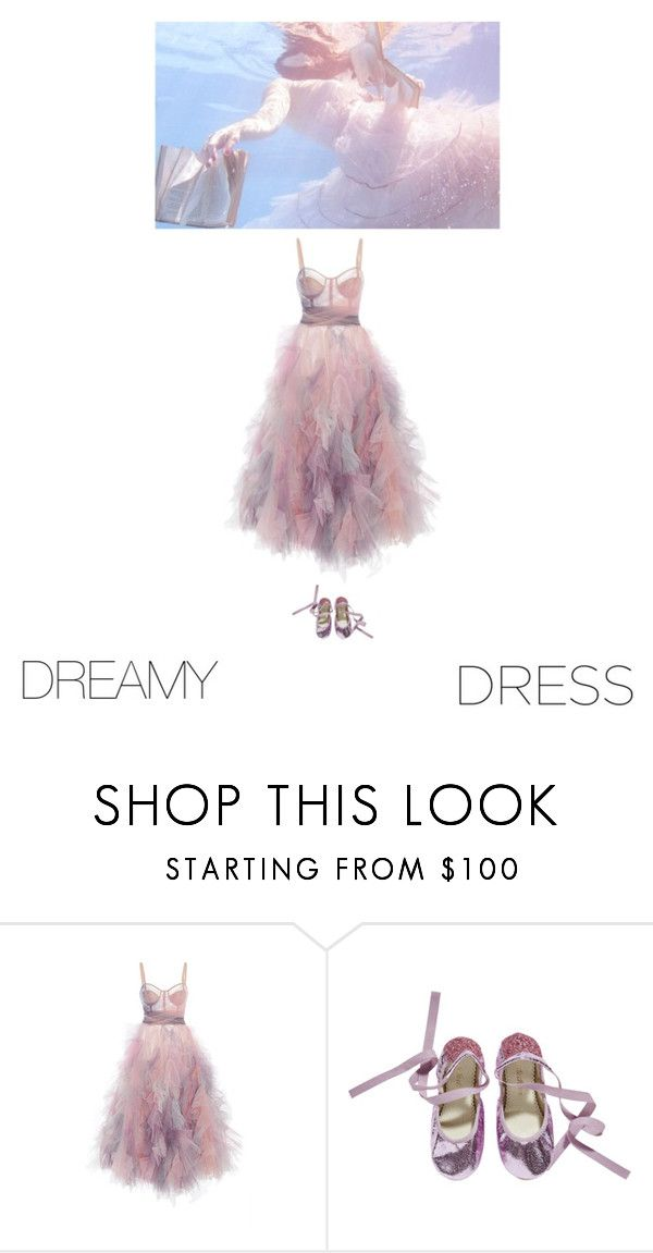 """""""float on"""" by suityerself ❤ liked on Polyvore featuring Marchesa"""