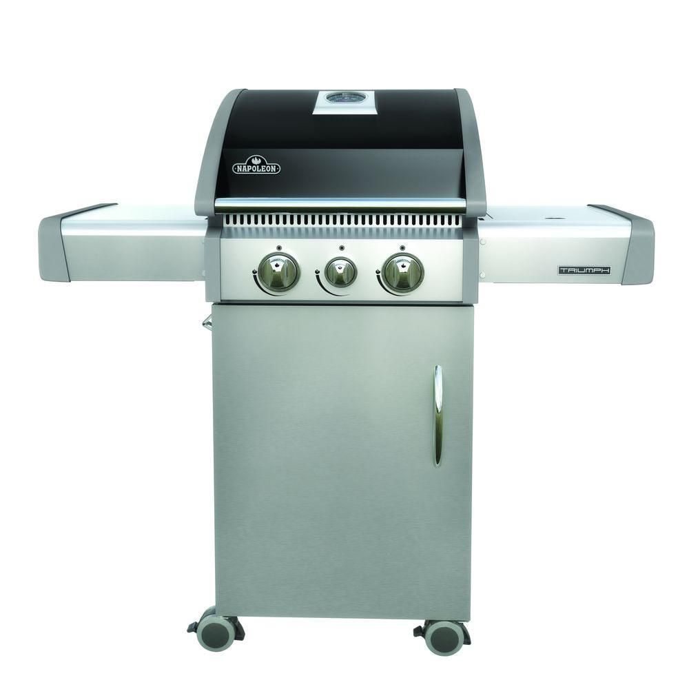 Triumph 325 Gas BBQ   Gas bbq, Stainless steel and Steel