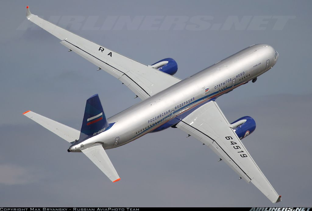 Airliners.net - An impressive departure for this Tu-214ON from Moscow - Zhukovsky http://www.