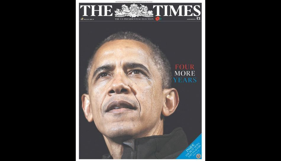 FOTOS: Barack Obama en las portadas de los diarios del mundo