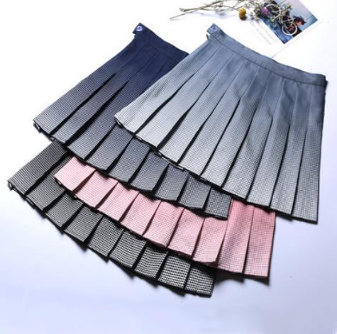 fb002ed15 Hip hop irregular stitching plaid skirt YV40288 in 2019 | College ...