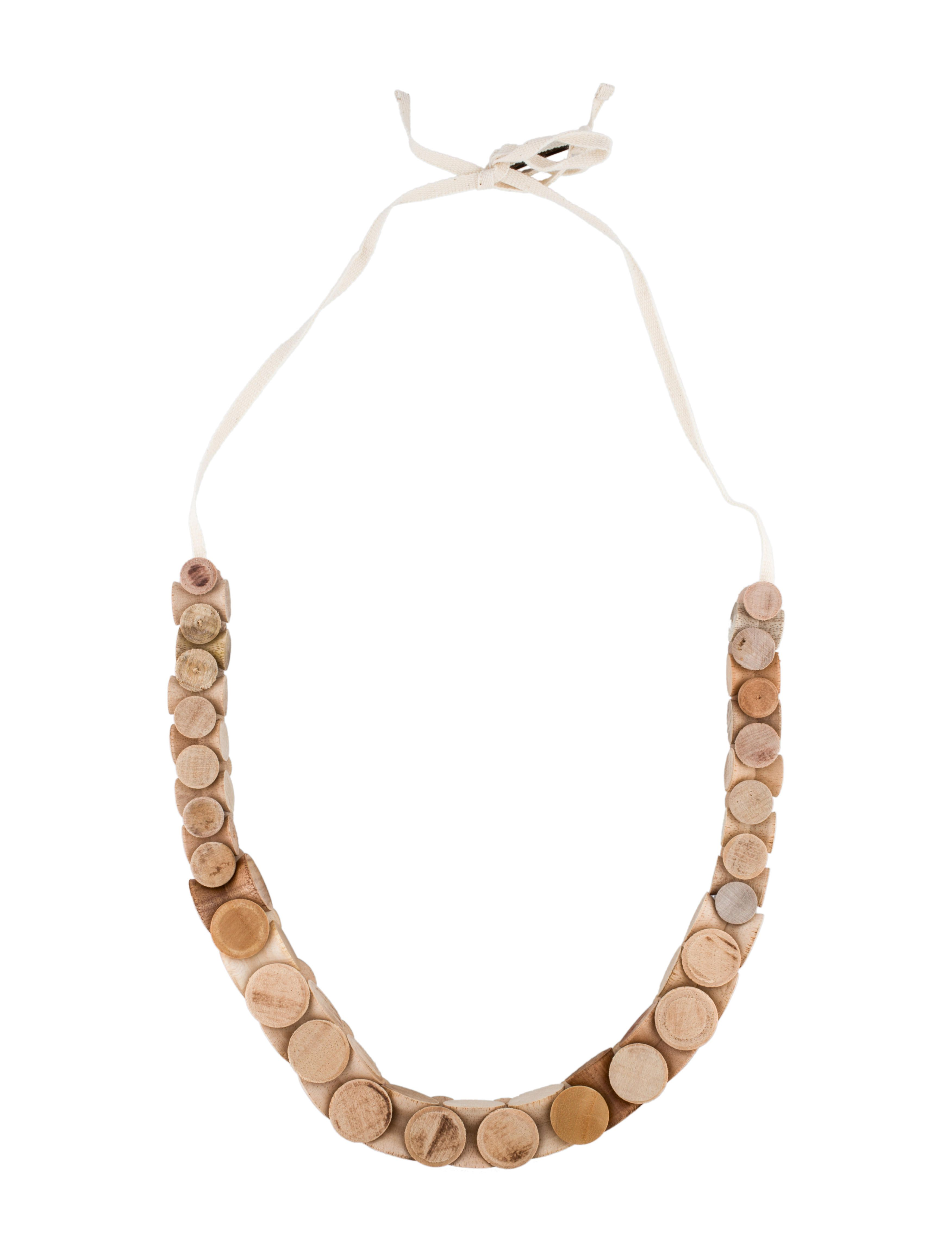 Marni Wood Necklace w/ Tags - Jewelry - MAN30022 | The RealReal