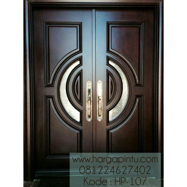 Pintu Depan Kupu Tarung Klasik Kayu Mahoni Hp 107 Harga Pintu Pintu Depan Pintu Ganda Pintu