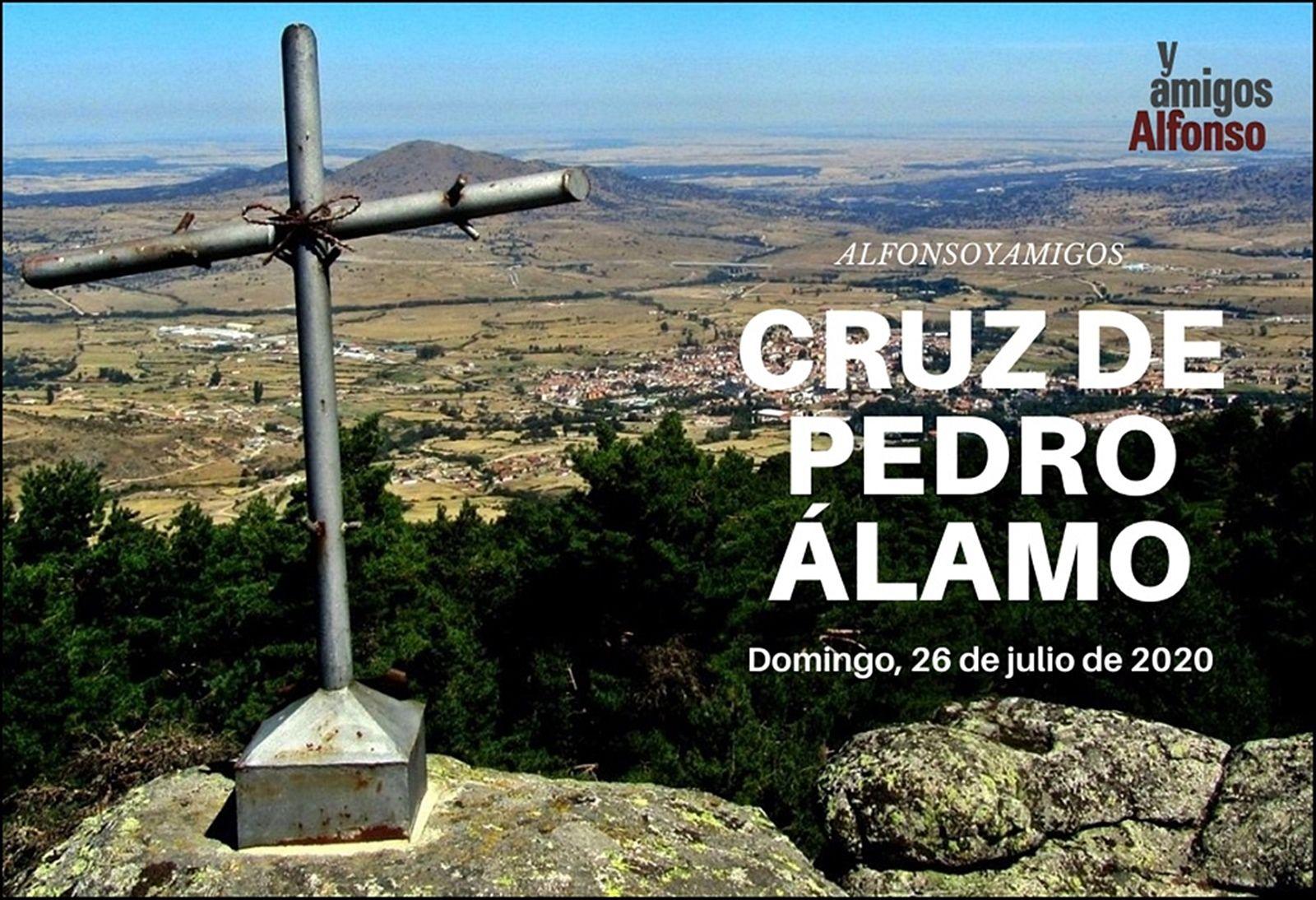 Cruz De Pedro álamo El Espinar Espuerta Naturaleza Pericos