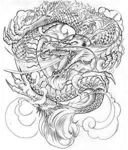 Banyu Rop Tattoo Gallery Japanese Dragon Designs