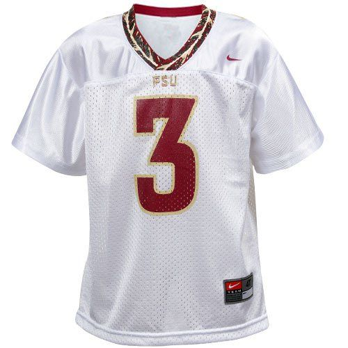 Nike Florida State Seminoles Fsu 3 Toddler Replica Football Jersey White Florida State Seminoles Jersey Florida State
