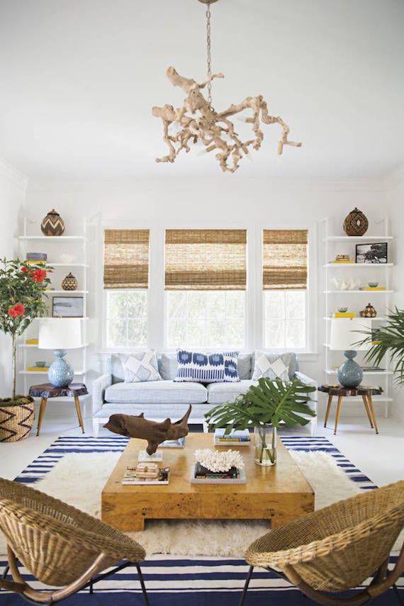 Secrets Of Beach Cottage Style Coastal Decorating Living Room