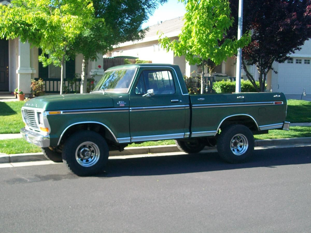 1978 ford truck 1978 ford f150 ranger xlt 4x4 shortbox for trade