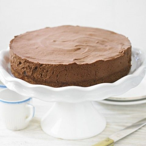 Chocolate Cheesecake with Armagnac Prunes - Woman And Home