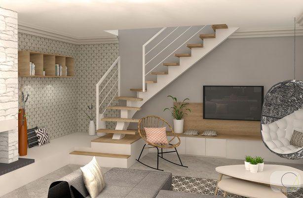 famille réunie - Camille BASSE , Architecte d\u0027intérieur à Lyon - realiser un plan de maison