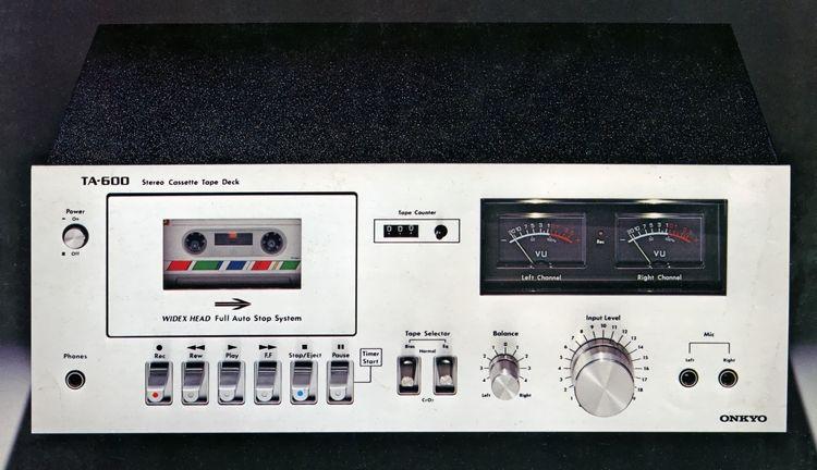 ONKYO TA-600 1977