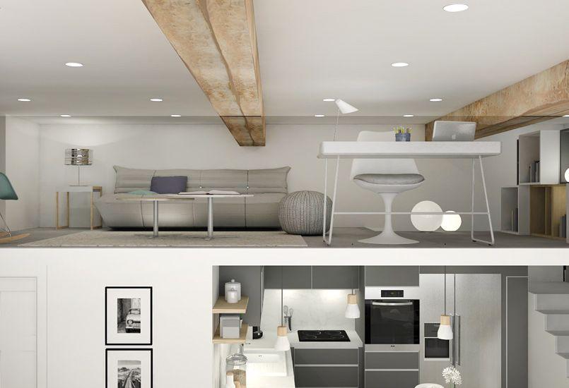 Pied À Terre Chic Et Moderne, Rénovation, Appartement, Canut, Lyon