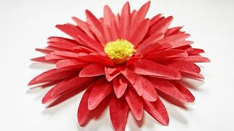 How to make paper flowers youtube how to make paper flowers youtube mightylinksfo