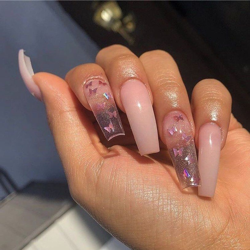 On Instagram Goodmorning Follow Glo Baabyy For More Baddie Acrylicnails Coffinnails Nailinsp In 2020 Best Acrylic Nails Instagram Nails Pretty Nails