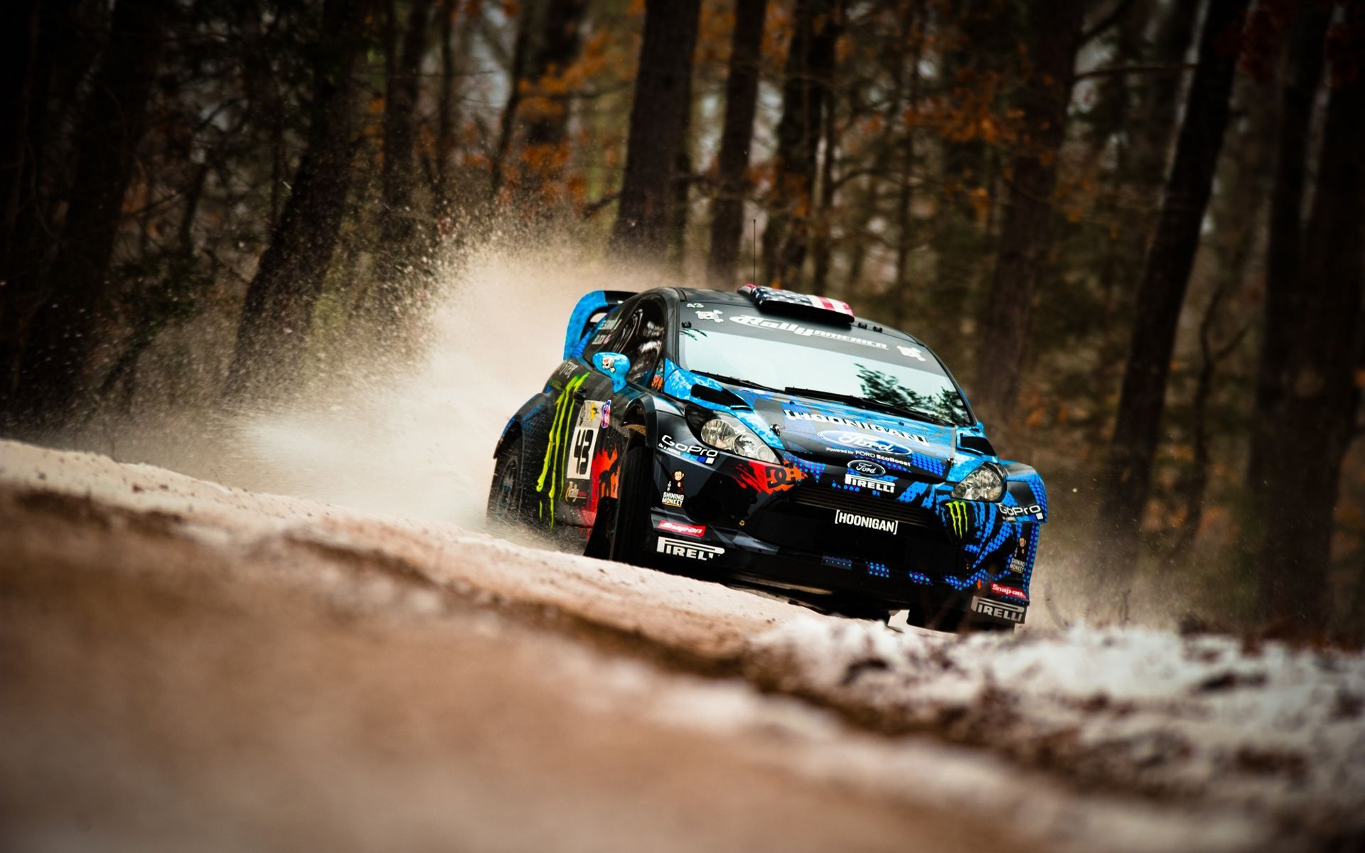 Ken Block Ford Fiesta Rally With Images Car Wallpapers Ken