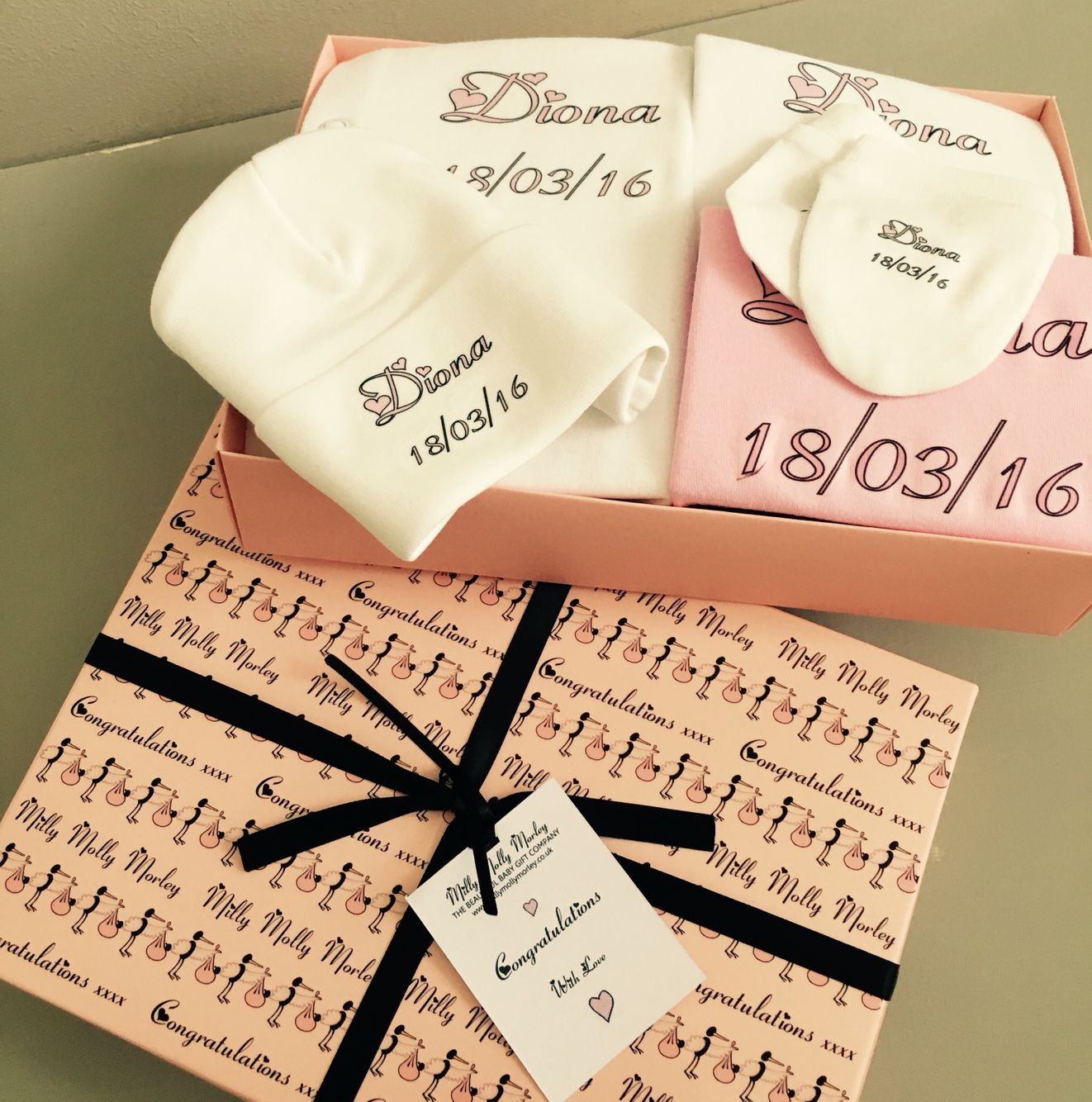 Luxury personalised baby gifts from the beautiful baby gift company luxury personalised baby gifts from the beautiful baby gift company millymollymorley negle Images