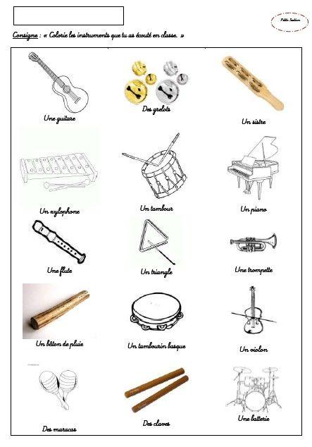 Projet en avant la musique petite section for Instruments de musique dax