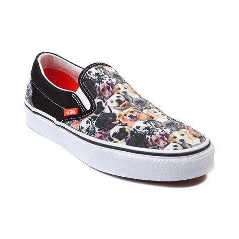 233b7c3dfc754b Shop for Vans x ASPCA Slip-On Dogs Skate Shoe in Multi at Shi by Journeys.  Shop today for the hottest brands in womens shoes at Journeys.com.