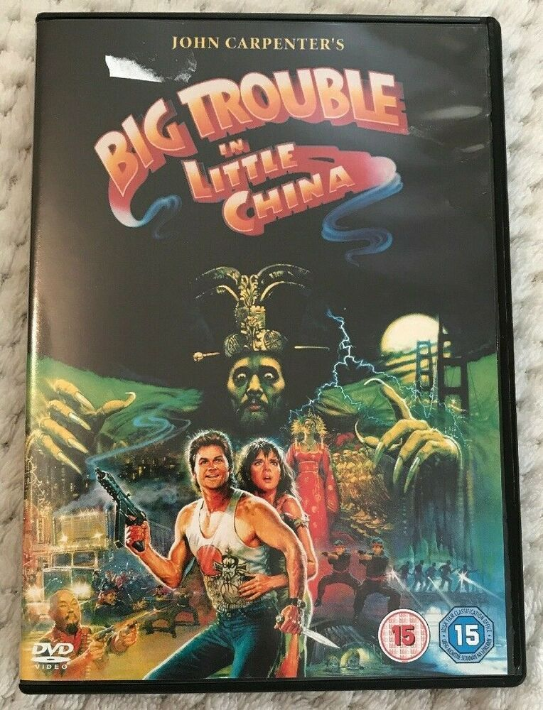 Big Trouble in Little China DVD (2004) Kurt Russell | Ebay