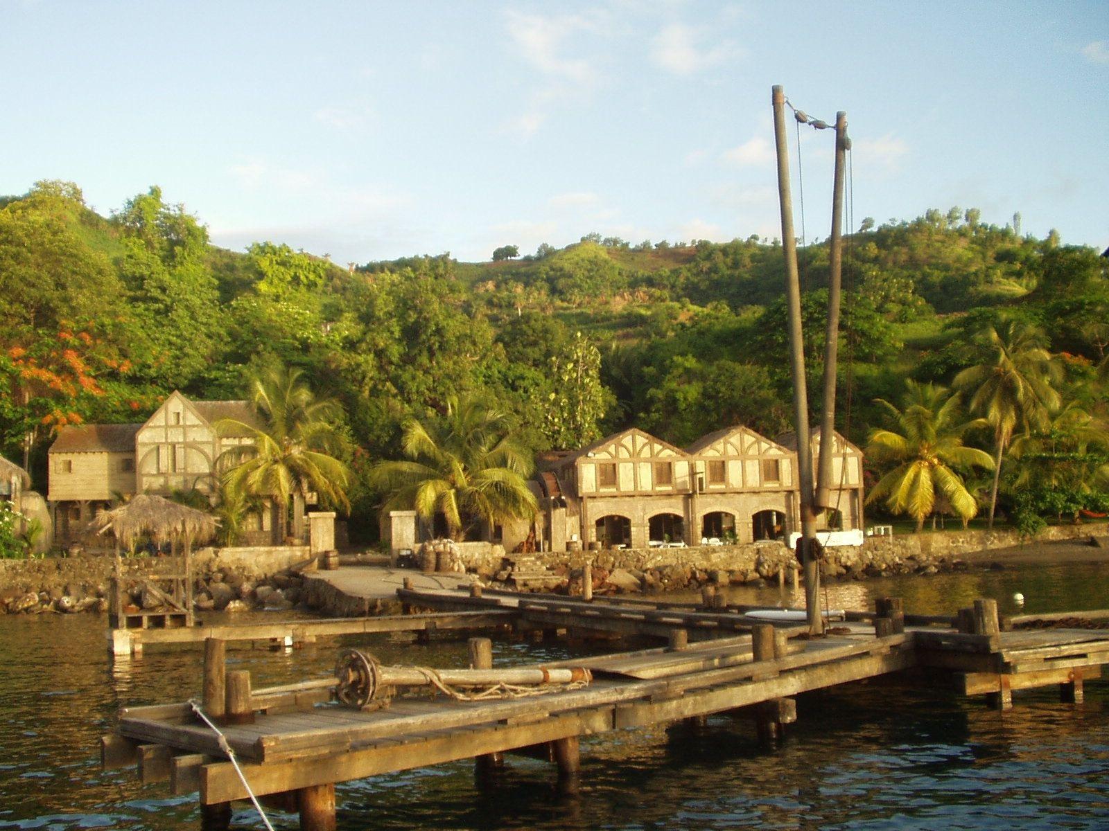 Pirates Of The Caribbean Movie Set On St Vincint Jpg 1600 1200 Saint Vincent And The Grenadines Caribbean Movie Sets