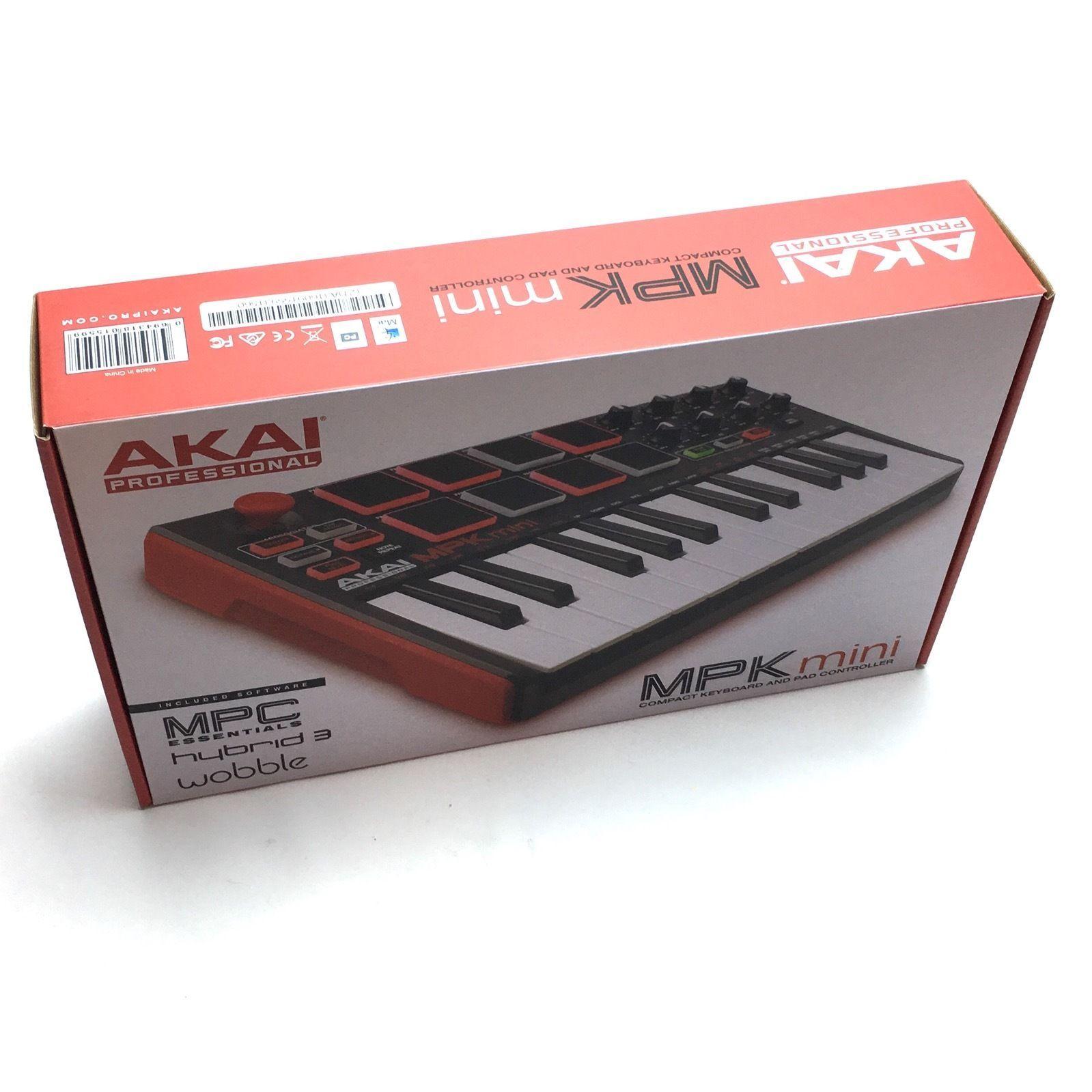 Midi Keyboard Controller Akai Professional Piano Organ USB