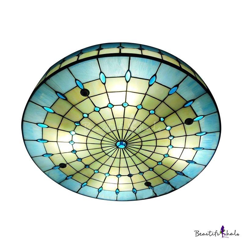 Flush Ceiling Light Drum Mount