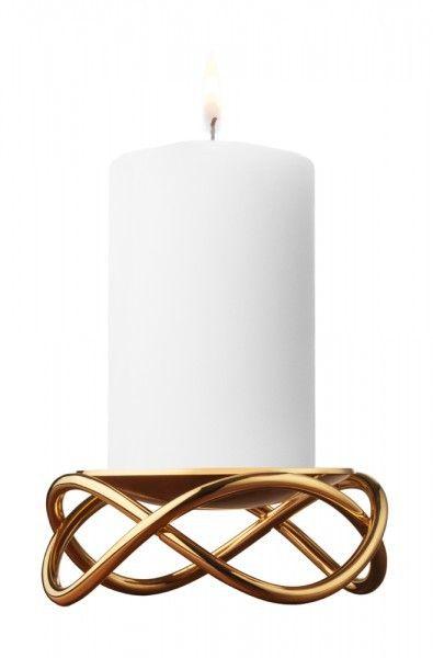 Georg Kerzenhalter georg kerzenständer glow vergoldet ø 10 5cm schöner