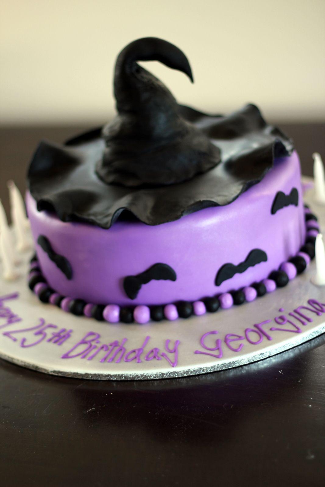 Haunted Halloween Birthday Cake ~ too cute! | Cake! Let them Eat ...