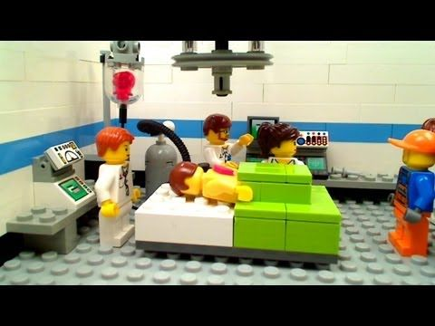 Lego Operating Room: Special Delivery - YouTube Cute short for ...