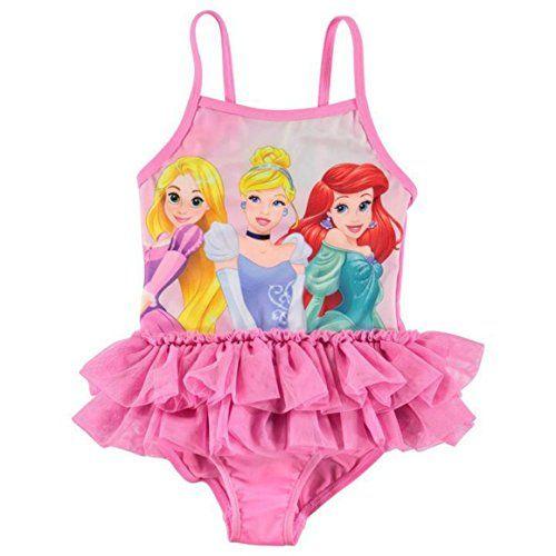 Disney Store Princess Cover Up Swimsuit Dress Ariel Belle Tiana Pink Dress Towel