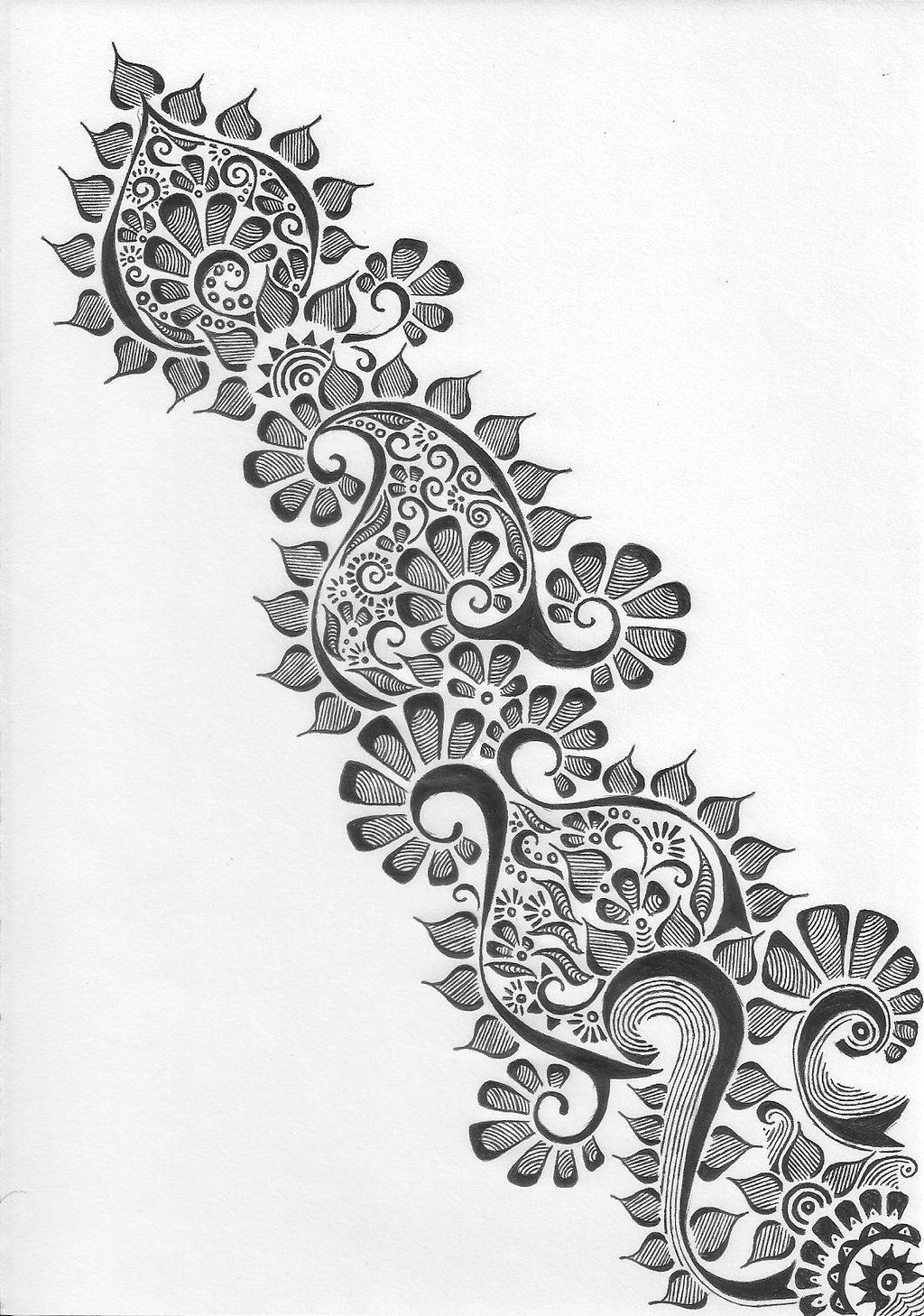 Henna Drawings: Pin By Angela On Inkspiration