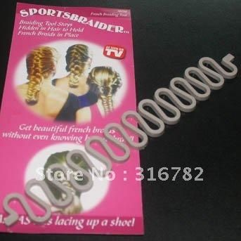 1 Pieces 3 99 Sportsbraider Hair Pin To Make Style French Braiding Tool As Seen On