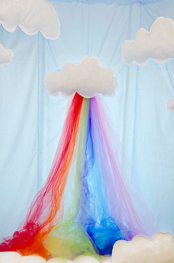 Rainbow Party Backdrop - Rental, Setup, Pick up on Etsy, $181 04 AUD