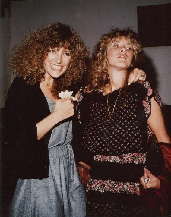 Stevie Nicks With Her Bff Robin Snyder Anderson Robin Was