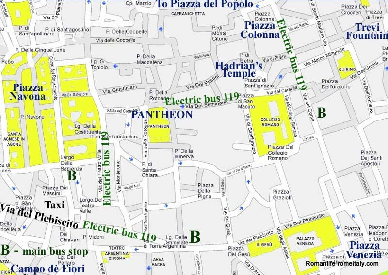 Image result for street map rome