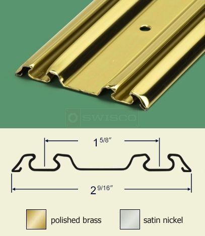 Details About Bypass Closet Door Track Kit Installation