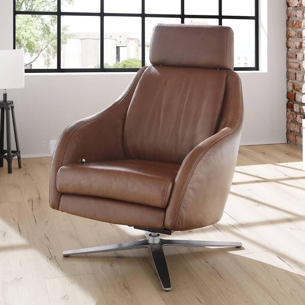 relaxsessel ricia in echtleder braun polstergarnituren sofas sessel pinterest. Black Bedroom Furniture Sets. Home Design Ideas